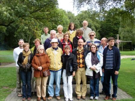 Gruppenbild vom Grillfest