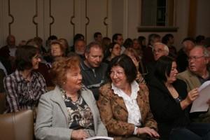 Kein freier Platz: Das Institut Francais freute sich über einen großen Andrang