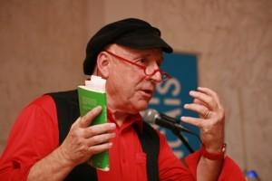 Martin Graff las auf deutsch und französisch aus seinem jüngsten Roman