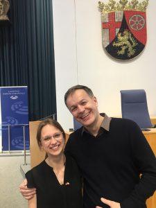 Roxana Fiebig und Stefan Möller